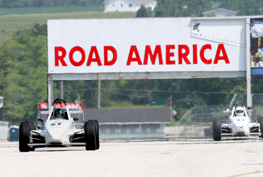 Jackie Weiss made the R/T 2000 Skip Barber Advanced 2day Race Activities at Road America