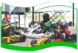 Heat Race for the 3rd Gatorz Cup at the Grange Motor Circuit