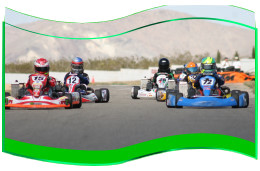 Main Race for the 3rd Gatorz Cup at the Grange Motor Circuit