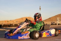Jackie tested the new kart generation: the  RM1 from Rotax